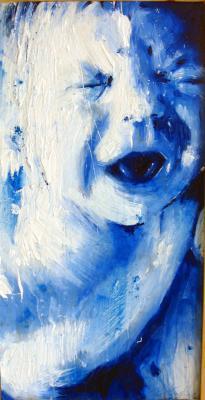 HOURS II. Emilio Fornieles Rodríguez. 60x100. Plástica y toner sobre madera acartonada